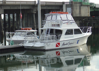Charter Info and Boat Schedules for Scuba Diving