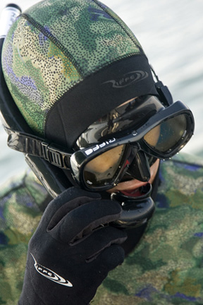 Riffe Cryptic Camo Wetsuit